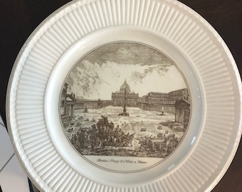 Piranesi plates  m, Set of four