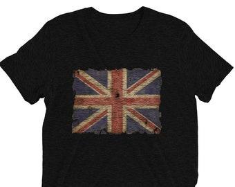 d3ab46c9 union jack t shirt - vintage british flag shirt - patriotic shirts - cool  vintage shirts
