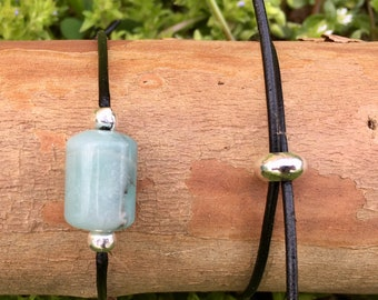 Adjustable Amazonite Bracelet