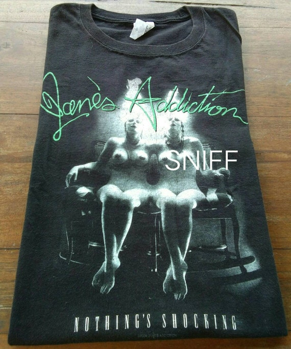 Vintage early 00 Janes Addiction Nothing's Shockin