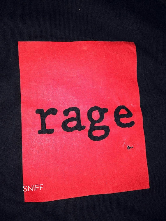 Vintage '99 Rage Against The Machine. Guerilla Rad