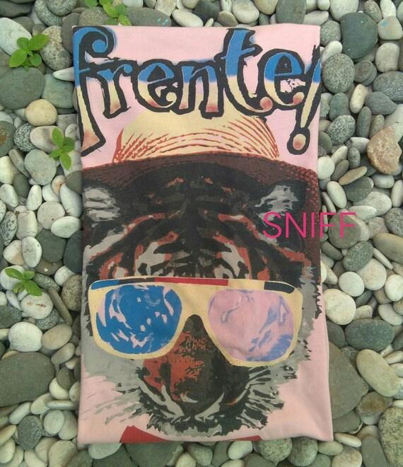 Vintage Frente!  Debut album .Faded pink shirt. bo