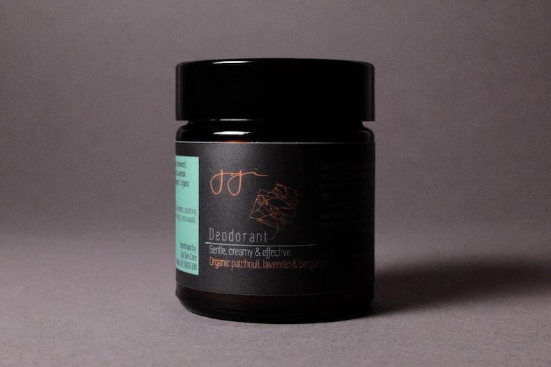 Creamy Deodorant  Patchouli Lavender & Bergamot image 0