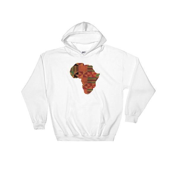 Afrique carte Kente classique africain traditionnel, le roi roi le africain impression Sweat à capuche, fierté noire, racines africaines grand cadeau pour la Culture africaine fière c2f213