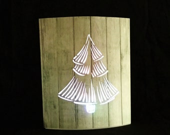 Lighted Paper Lantern Color Changing Bulb