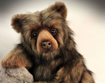 Machk,  collectible Artist Bear, mohair bear, teddy bear