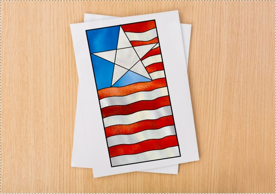 b04f37caea18 Stained Glass Patriotic Flag Suncatcher Panel Pattern PDF