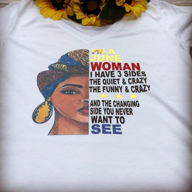 e1693899f I AM WOMAN BIRTHDAY t-shirt | Etsy