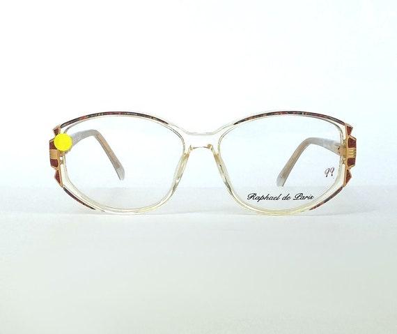 83016229722 Vintage Eyeglasses Frames   Deadstock Eyeglasses   Oversized