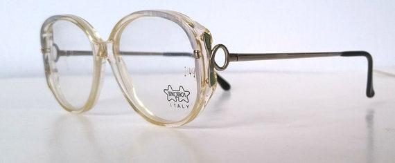 Deadstock Vintage Oversized Round Eyeglasses Frame