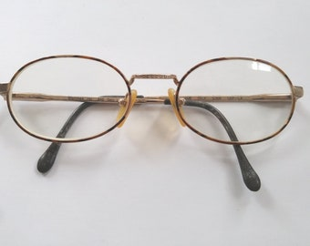 52483fd5e2225 Sferoflex Full Rim Stainless Steel Oval Prescription Eyeglasses Frames