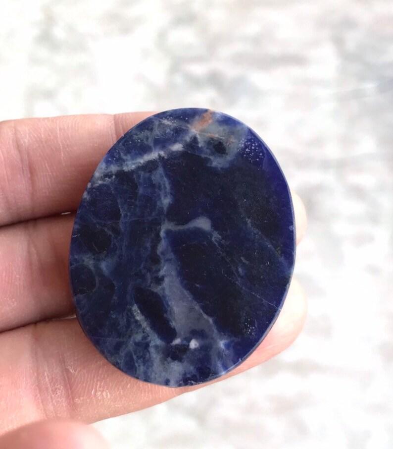 Sodalite carving ganesha