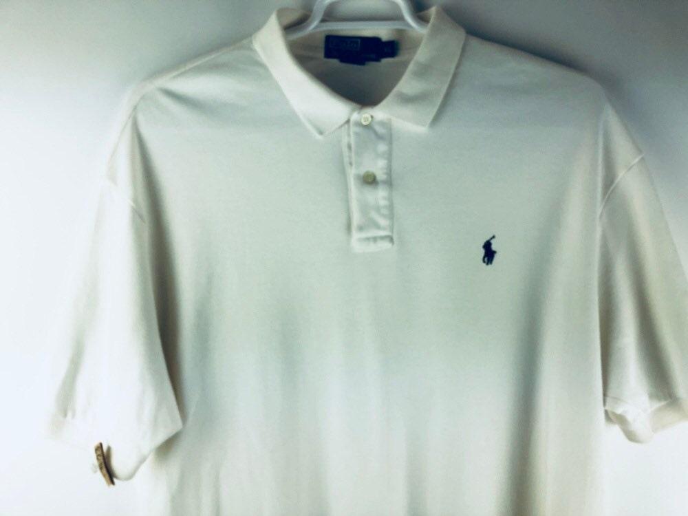 6fdab3732 Polo Ralph Lauren Shirt Mens Polo Shirt XL Vintage 90s Off