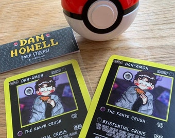 a3a85a33ad5 DAN HOWELL - Pokemon card style STICKER!