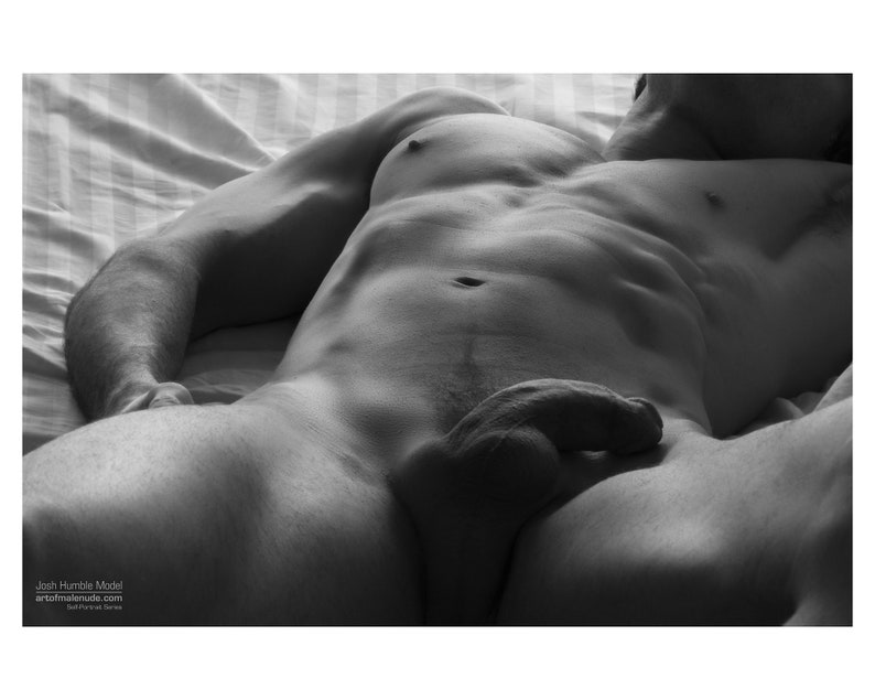 Awaiting My Hungry Lover... Male Erotica Self Portrait image 0