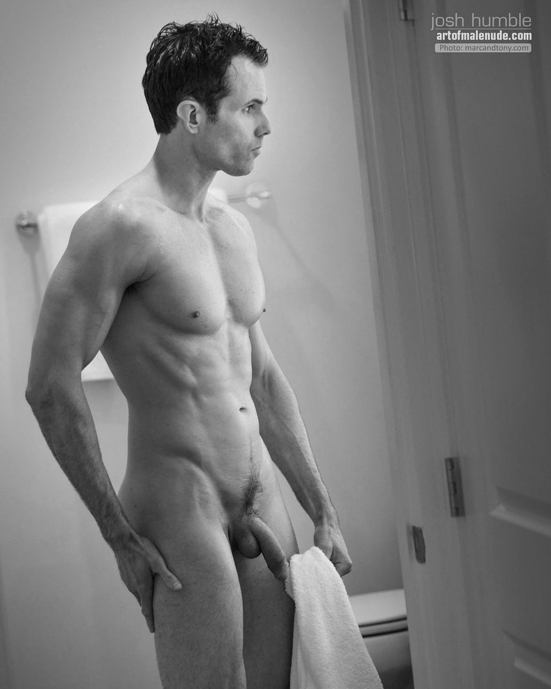 Shower Time Male Nude image 0