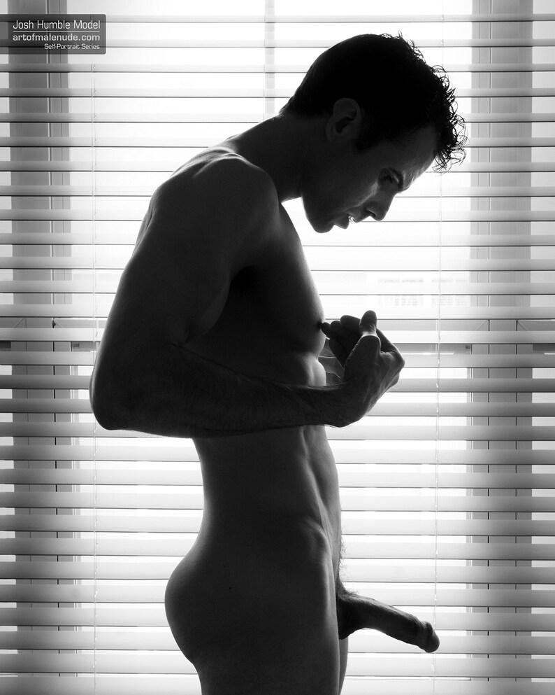 Hi Baby :  Male Nude Self Portrait image 0