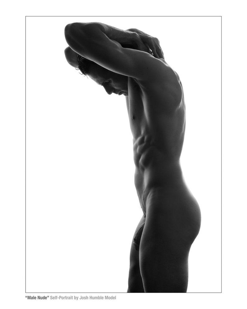 Male Nude Self-Portrait Josh Humble Model image 0