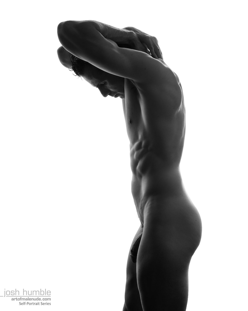 Male Nude Self Portrait image 0