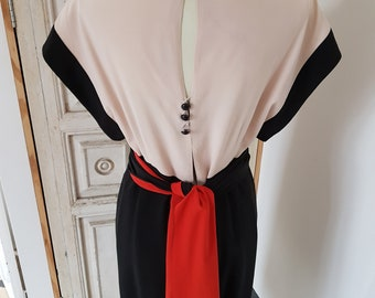 Vintage Chloe by Karl Lagerfeld Silk Dress