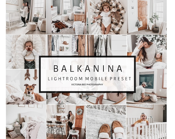 2  Lightroom Mobile Presets BALKANINA Sweet Home Lightroom Preset Blogger Instagram Lifestyle Editing
