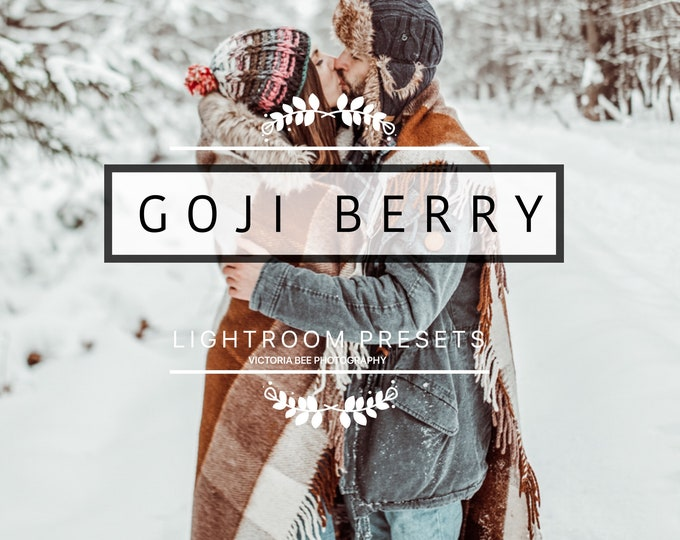 Desktop Lightroom Preset GOJI BERRY Creamy Lightroom Presets Lifestyle Chocolate Tones