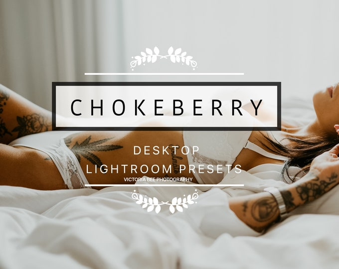 Desktop Lightroom Preset CHOKEBERRY Modern Outdoor Lightroom Presets  Portrait Lifestyle Lightroom Presets