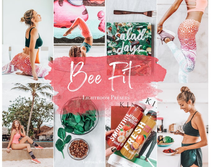 3 Mobile Lightroom Preset BEE FIT / Lightroom Mobile Presets for Instagram Bloggers/  Travel Preset / Influencer Lightroom Lifestyle preset