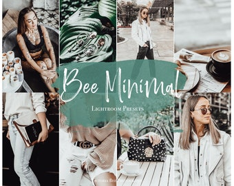 3 Mobile Lightroom Preset BEE MINIMAL Lifestyle and Fashion Lightroom Preset / Minimalist Lightroom Instagram Filter for Bloggers