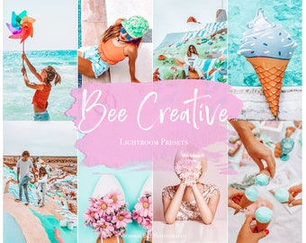 5 Mobile Lightroom Preset BEE CREATIVE  Influencer Lightroom Preset Travel Blogger Instagram Lifestyle Fashion Photography
