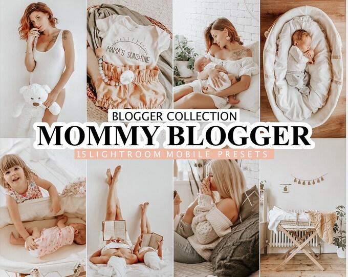 15 Lightroom Presets MOMMY BLOGGER for desktop and mobile Lightroom, mother preset, baby instagram presets, photo editing