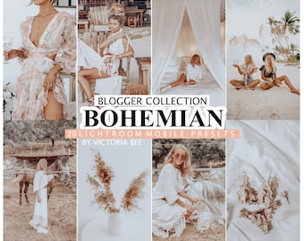20 LIGHTROOM Presets BOHEMIAN for Mobile and Desktop Lightroom, Instagram Presets, Boho Photo Filter, Presets Lightroom