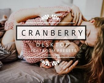 Desktop Lightroom Preset Cranberry Modern Autumn Tones Lightroom Presets For Photographers Warm Moody Creamy Presets