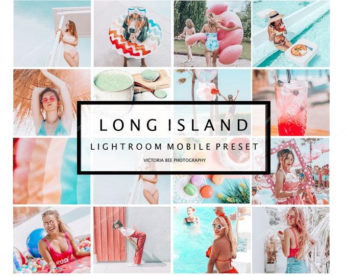 5 Lightroom Summer Presets LONG ISLAND Instagram Presets Mobile Presets Blogger Presets Photo Filter Travel Presets