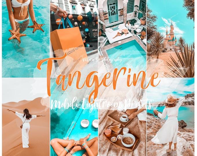 15 Lightroom Mobile Presets TANGERINE Teal and Orange Lightroom preset Summer Presets for Desktop and Mobile Lightroom Instagram Filter