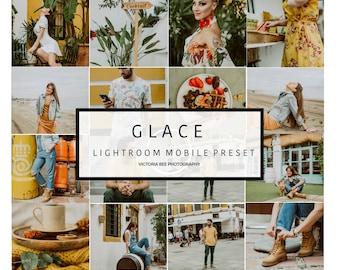 5 Lightroom Mobile Presets GLACE Instagram Lifestyle Lightroom Preset for Blogger Lightroom Mobile Preset