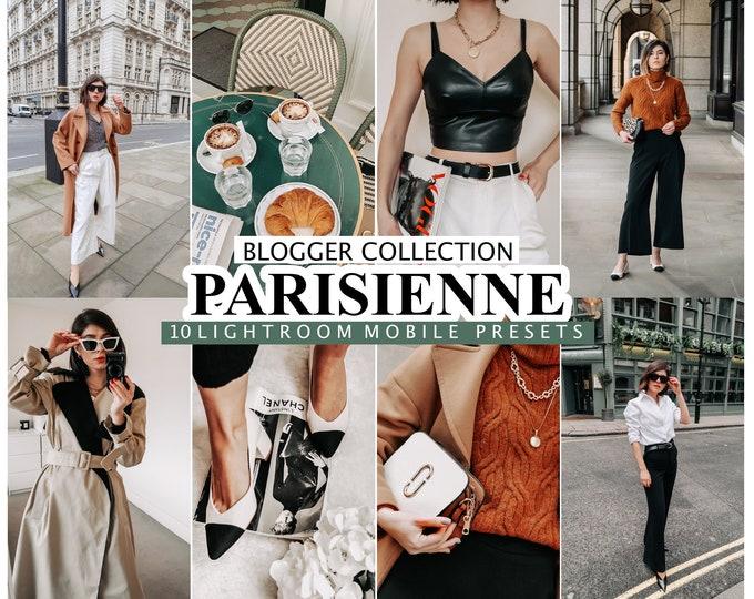 10 Lightroom Presets PARISIENNE  for desktop and mobile Lightroom , Instagram Filters for Bloggers, French Presets for  Influencer Preset