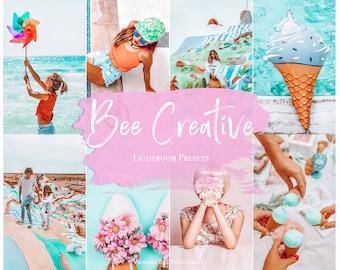 5 Mobile Lightroom Preset BEE CREATIVE  Influencer Lightroom Preset Travel Blogger Instagram Lifestyle Fashion Photography