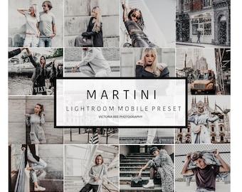 5  Lightroom Mobile Presets MARTINI Urban Street Lightroom Preset  Gray Tones Lifestyle Preset for Photo Editing