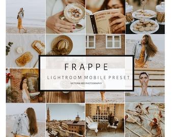 5 Mobile Lightroom Preset FRAPPE Lifestyle and Fashion Lightroom Preset Warm Lightroom mobile preset
