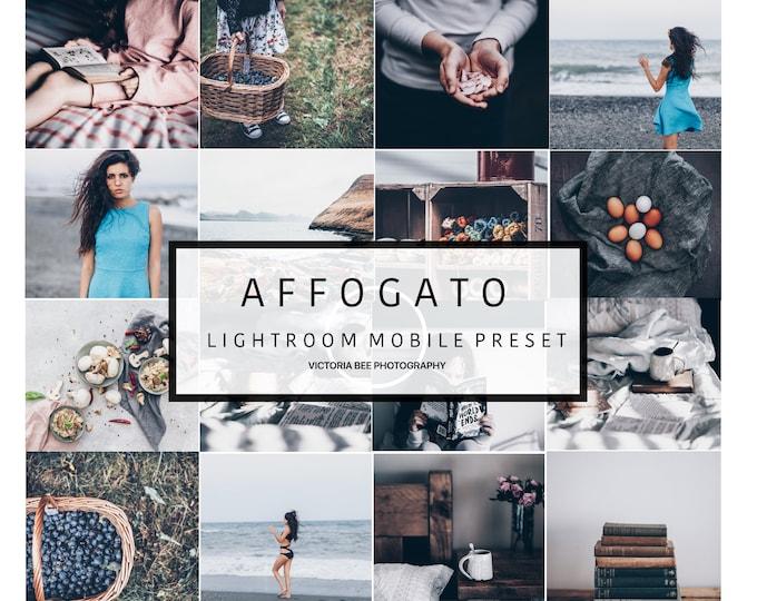5 Mobile Lightroom Presets AFFOGATO Blogger Lifestyle Lightroom Preset For Instagram Lightroom Mobile Preset DNG file
