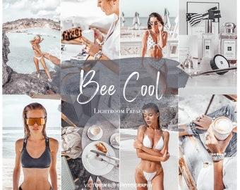 5 Lightroom Mobile Presets BEE COOL / Gray Minimal Lightroom Preset / Travel Ash Blogger / Instagram Lifestyle Fashion Photography