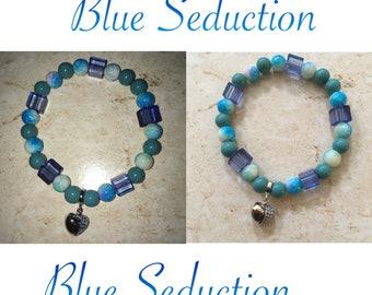 Individual Custom Bracelet (Blue Seduction)