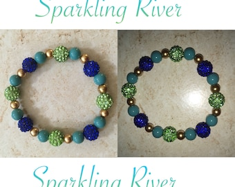 Individual Custom Bracelet (Sparkling River)