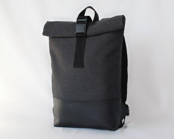cheap price quality products later Laptop backpack, Rolltop rucksack, Backpack men, Minimalist backpack,  Mochila portatil, Rugzak roll top, Zaino, Vegan backpack, Waterproof