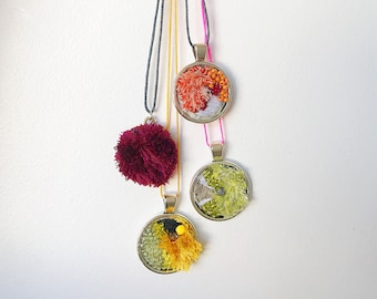 Lichen necklace series 2