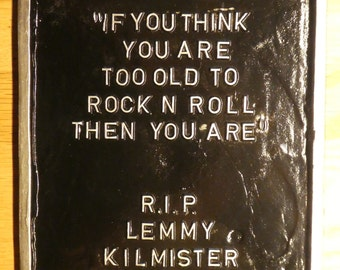 MOTÖRHEAD Quote LEMMY
