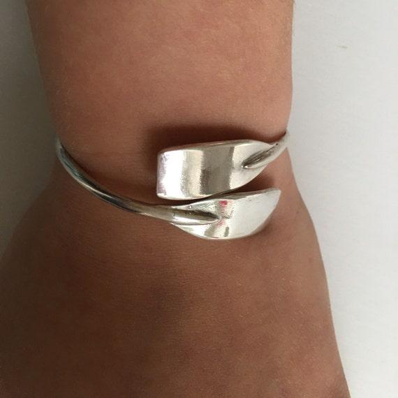 Sterling Silver Oar Blade Charm Bracelet