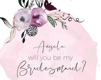 Will You Be My Bridesmaid,Will You Be My Bridesmaid Card,Will You Be My Bridesmaid Gift,Will You Be My Bridesmaid Mug, Bridesmaid Puzzle