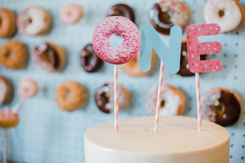 Donut Party,Donut Cake Topper,Donut Decorations,Donut Grow Up,Kids Party Decorations,Donut Topper,Donut Printable,Donut,Donut Sign,Topper